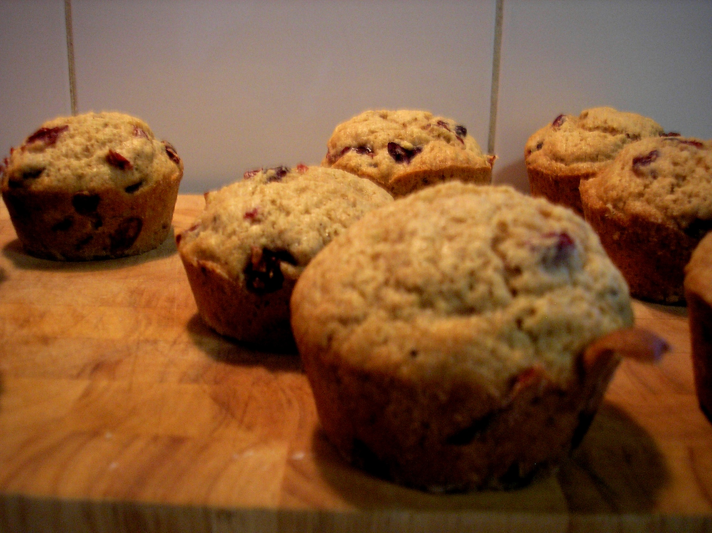 cranberry lime muffins | cut.the.cookie