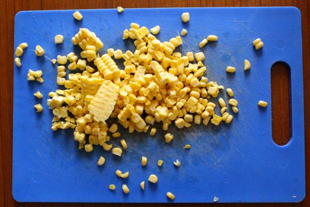 corn, de-cobbed