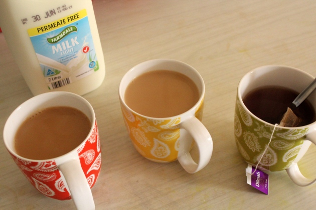 stages of tea
